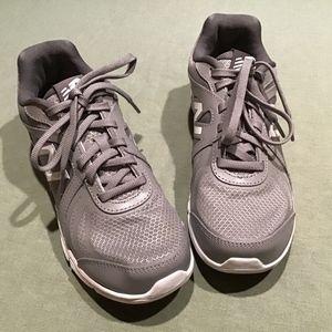 Women's New Balance Grey walking shoes